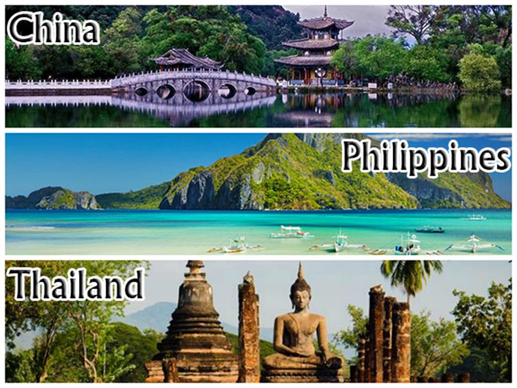 Dating destinations in China, Philippines and Thailand