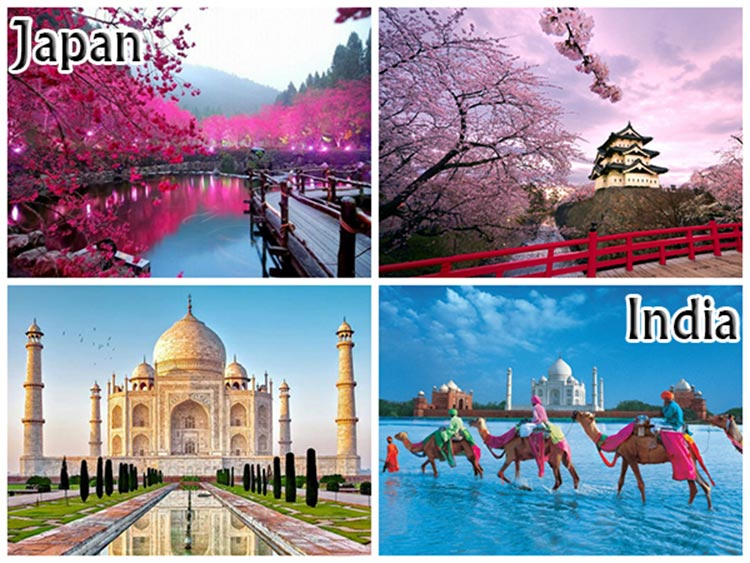 Dating destinations in Japan and India