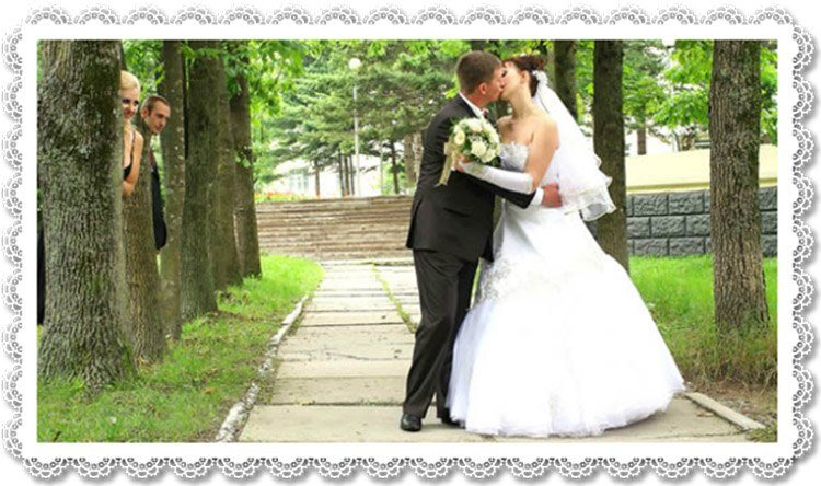 Kazakh bride marrying western man