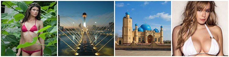 stunning places and beauties of Kazakhstan