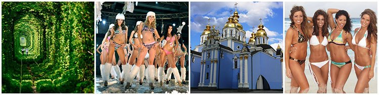 the babes and sceneries in Ukraine