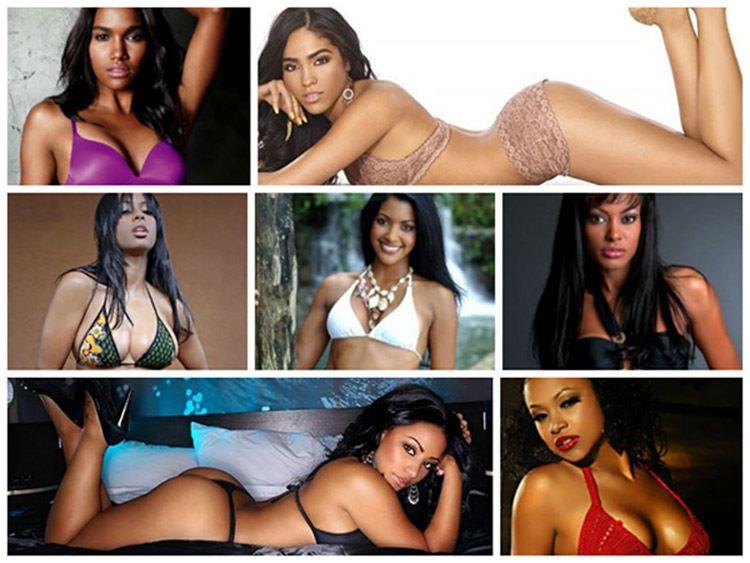 The sexiest Dominican single women
