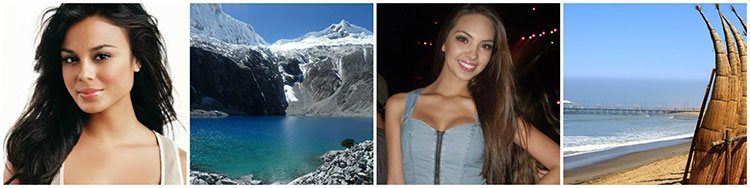 wonderful babes and best places in Peru