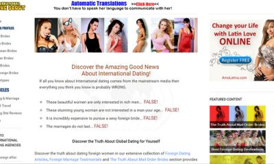 International Love Scout home page