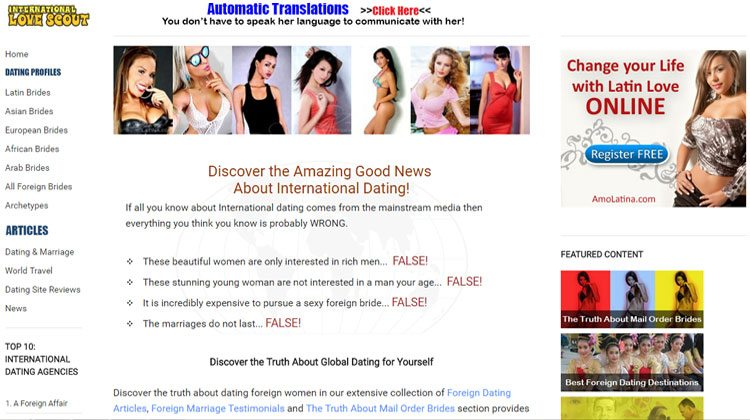 Global dating sites free