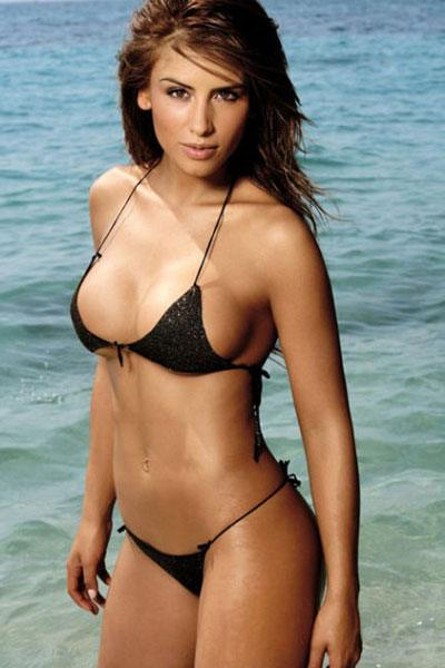 bewitching body of Jesica Cediel