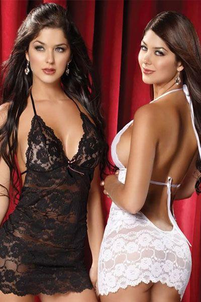 Camila and Mariana Davalos in sexy lingerie