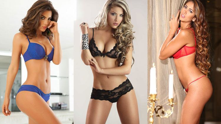 drop-dead gorgeous girls from Colombia