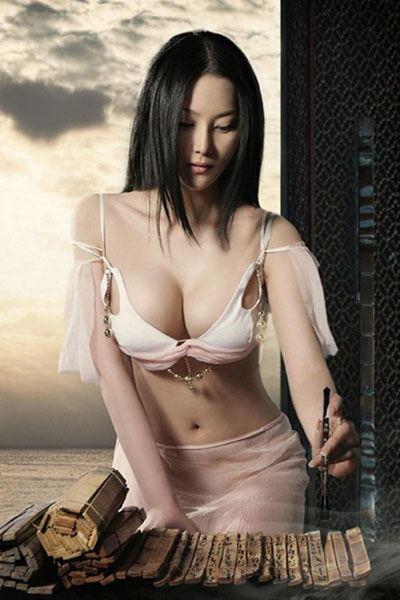 drop-dead gorgeous Zhang Xin Yu