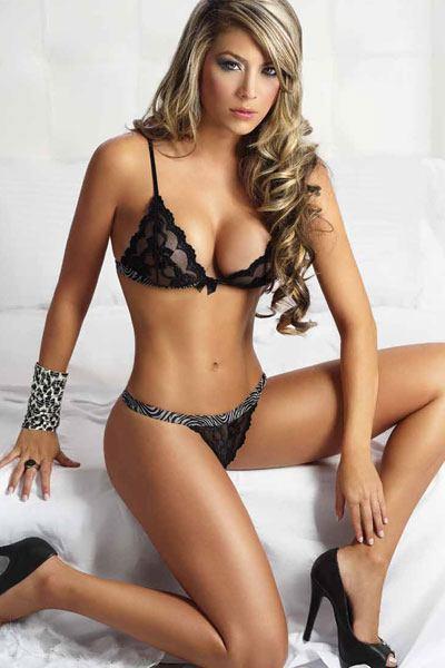 luscious Daniela Tamayo sitting sexy and hot