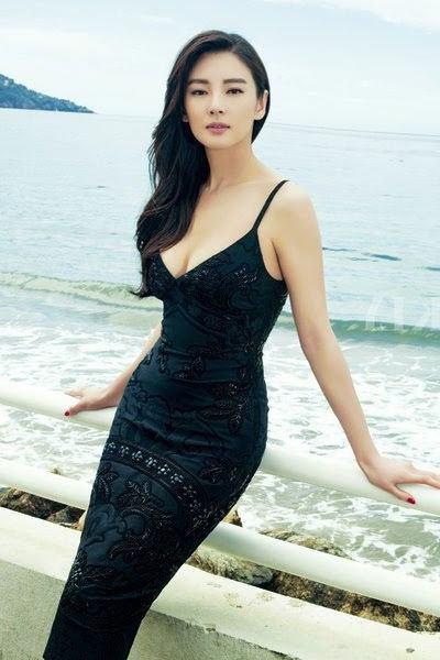 nubile beauty of Kitty Zhang Yuqi