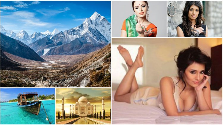 amazing places and girls of India