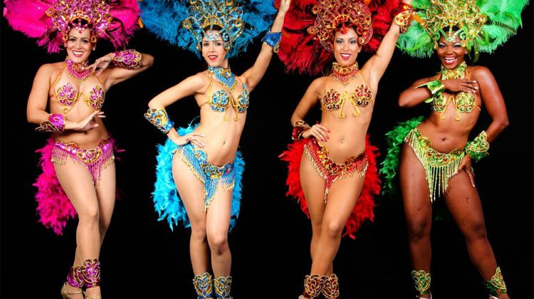 rio carnival party girls
