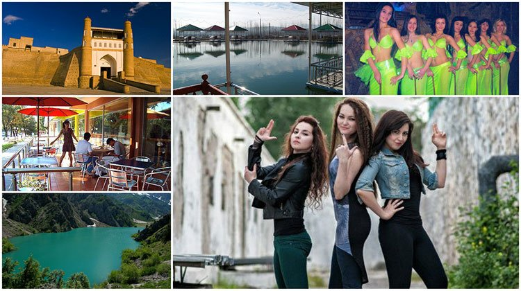 lovely ladies and awesome places in Uzbekistan