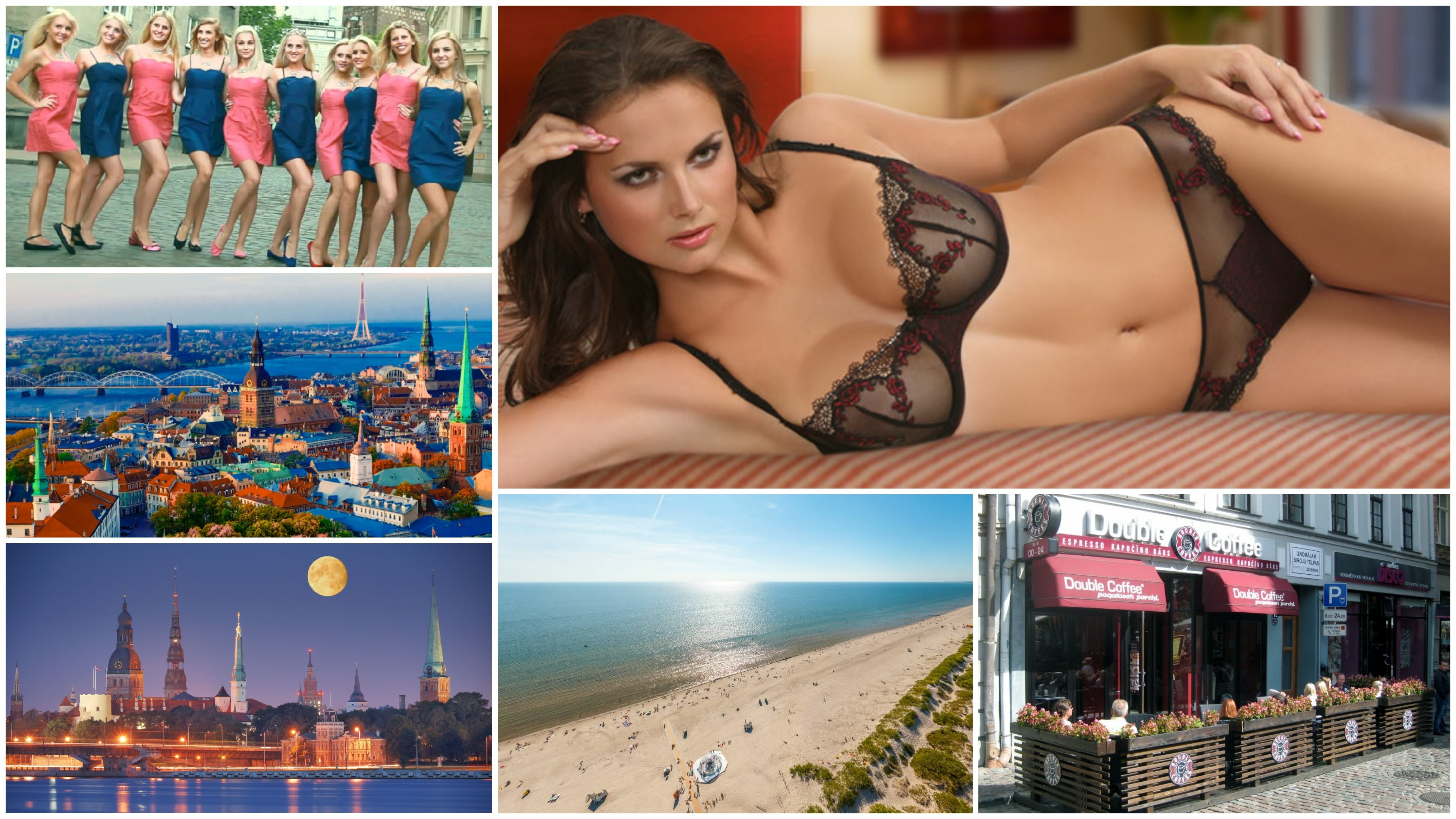places and girls in Latvia
