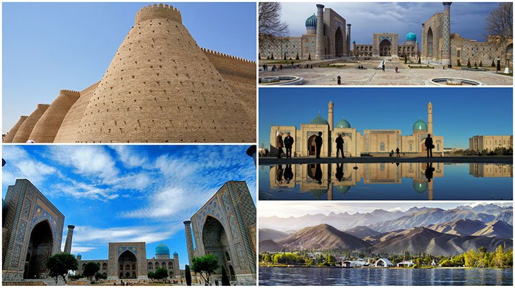 tourist spots while travelling in Uzbekistan