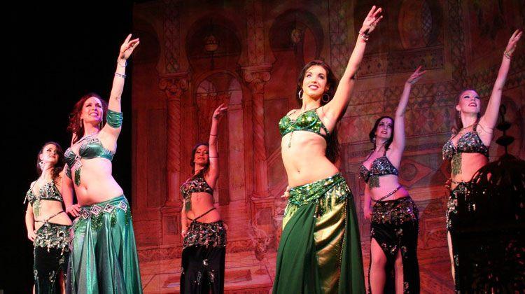 Uzbekistan belly dancers