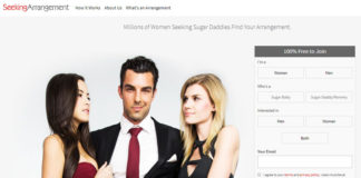 Seeking Arrangement - sugar daddy site