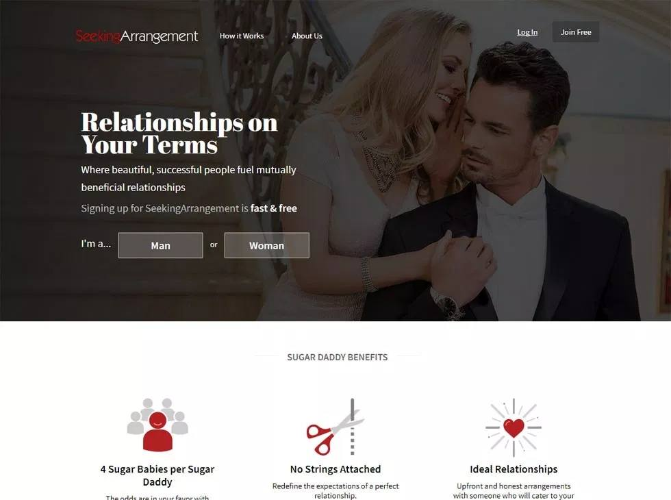 seeking arrangement design