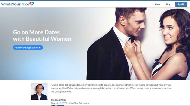 dating site what your price