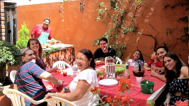 typical mexican family