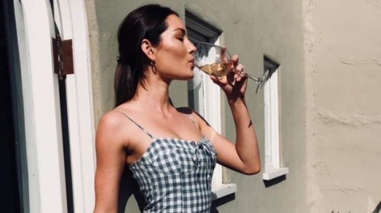 latina drinking