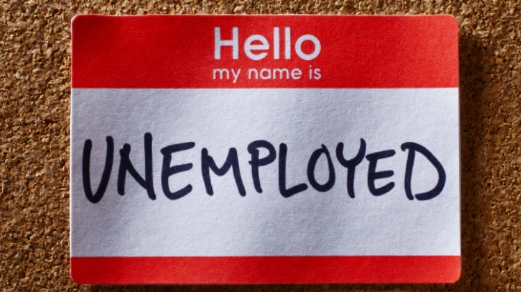 unemployed name tag