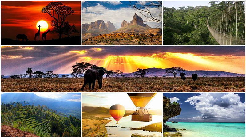 The gorgeous beauty of Africa