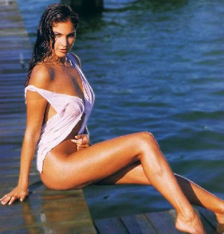 Blanca Soto wet and wild