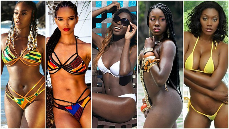 the beauties of the African babes