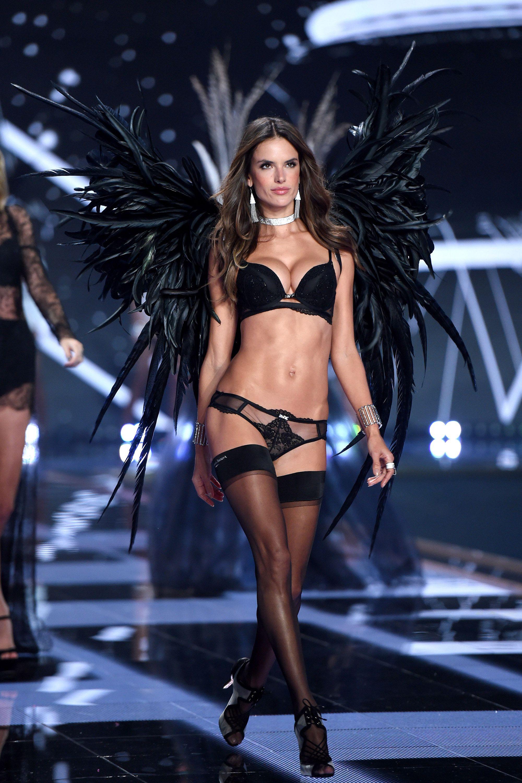 Alessandra Ambrosio at Victoria's Secret fashion show
