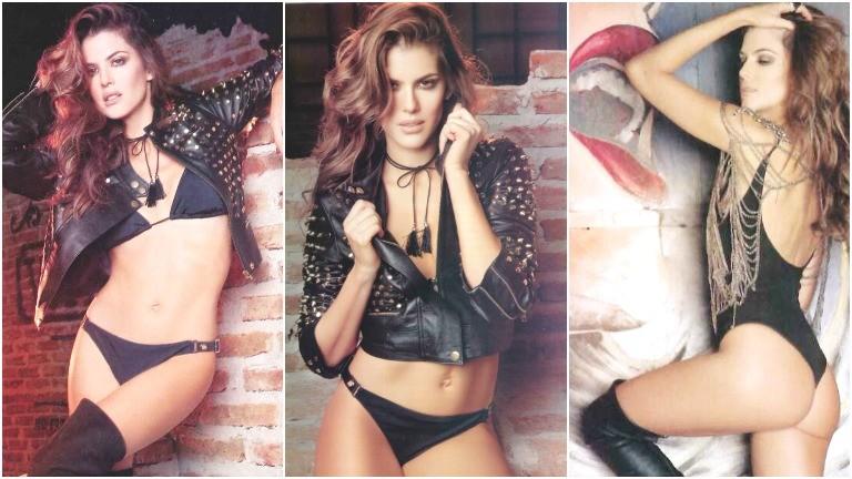 Maria del Cerro sexy collage