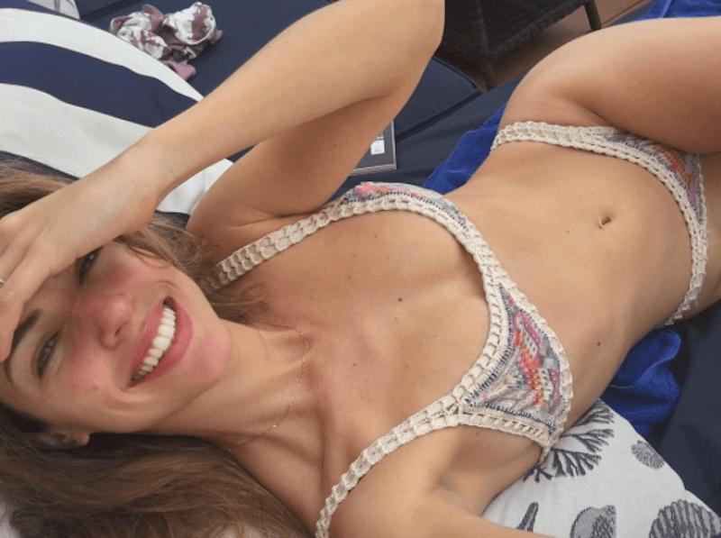 Stephanie Cayo curvy body