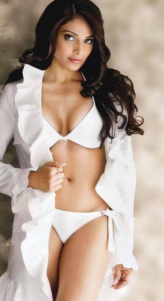 Bipasha Basu white bikini