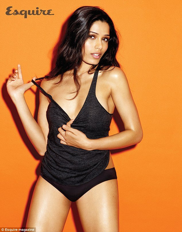 Freida Pinto esquire shoot