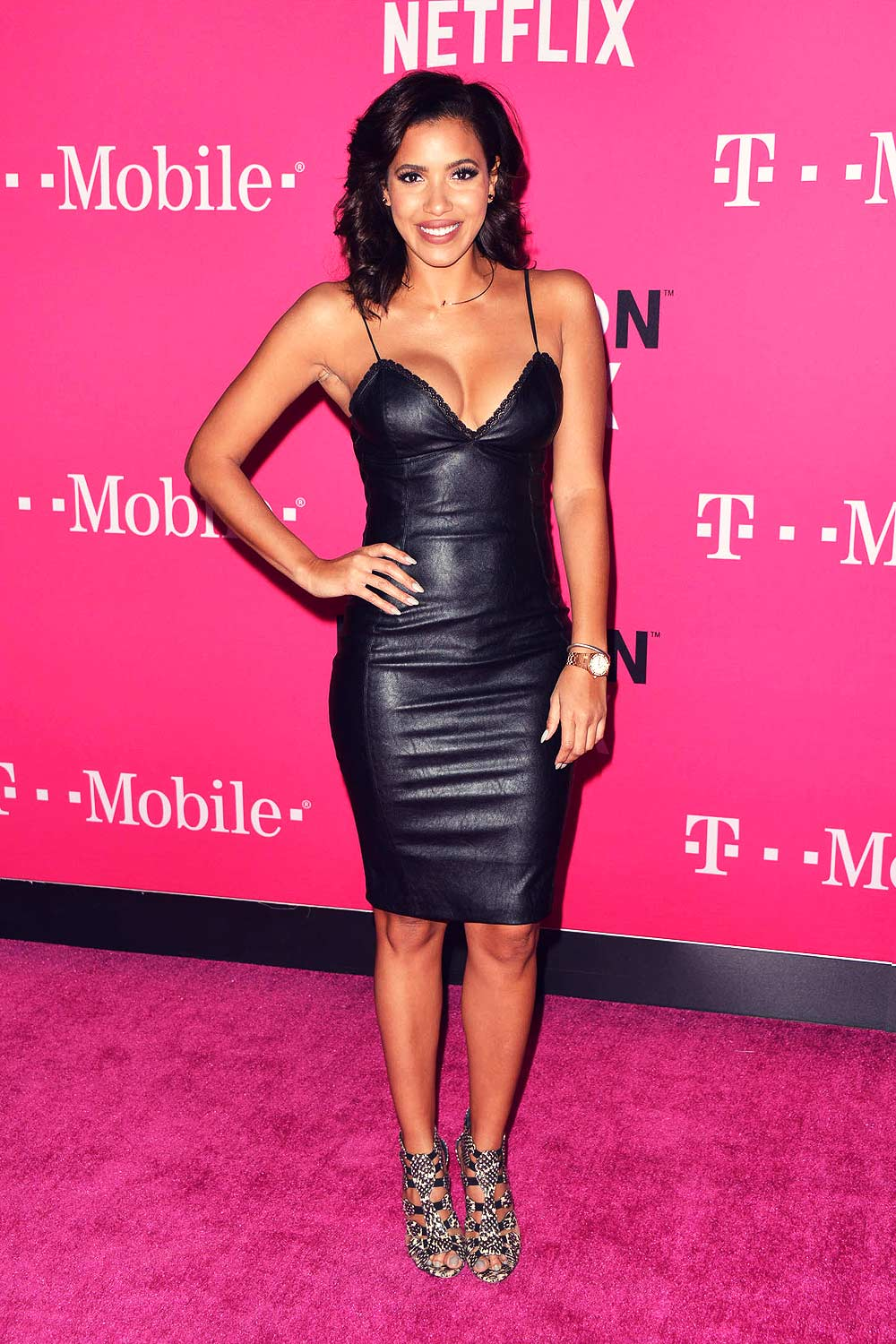 Julissa Bermudez t-mobile event