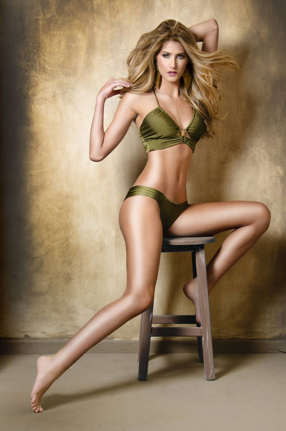 Mariam Habach pictorial on the chair