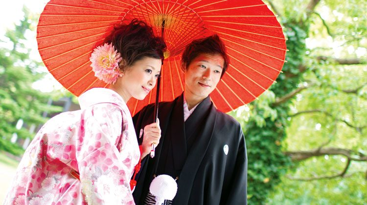 Japanese couple arranged marriage