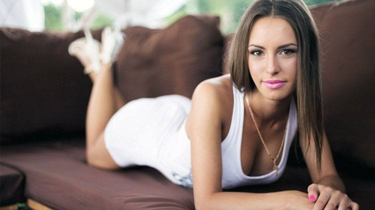 simple but very beautiful Czech woman