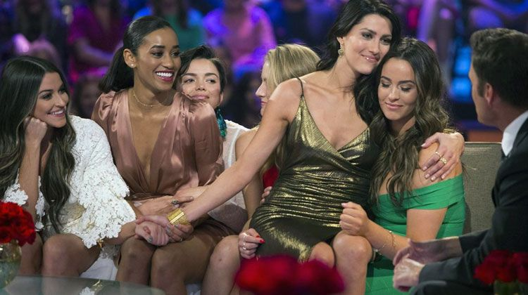 The Bachelor girls waiting to be chosen by The Bachelor