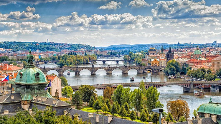 the beautiful place of Czech Republic