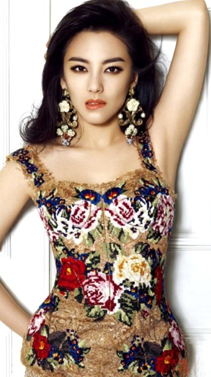 gorgeous zhang yuqi