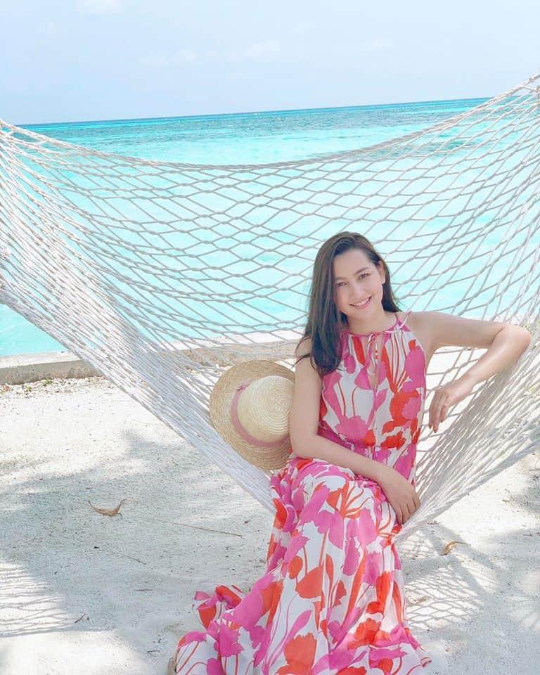 Hin Channiroth looking fresh at the beach