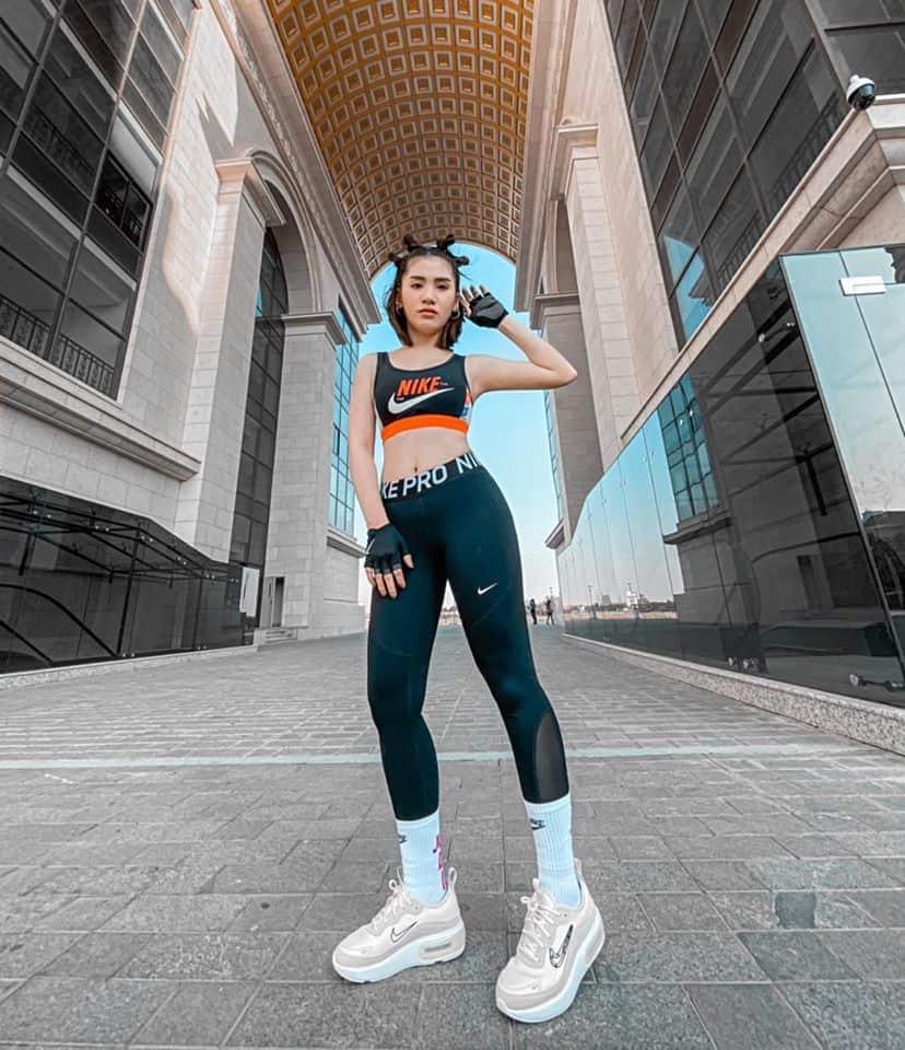 Kong Chansreymom Nike endorsement