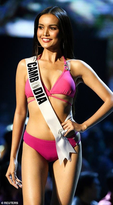 Rern Sinat swimsuit in miss universe competition