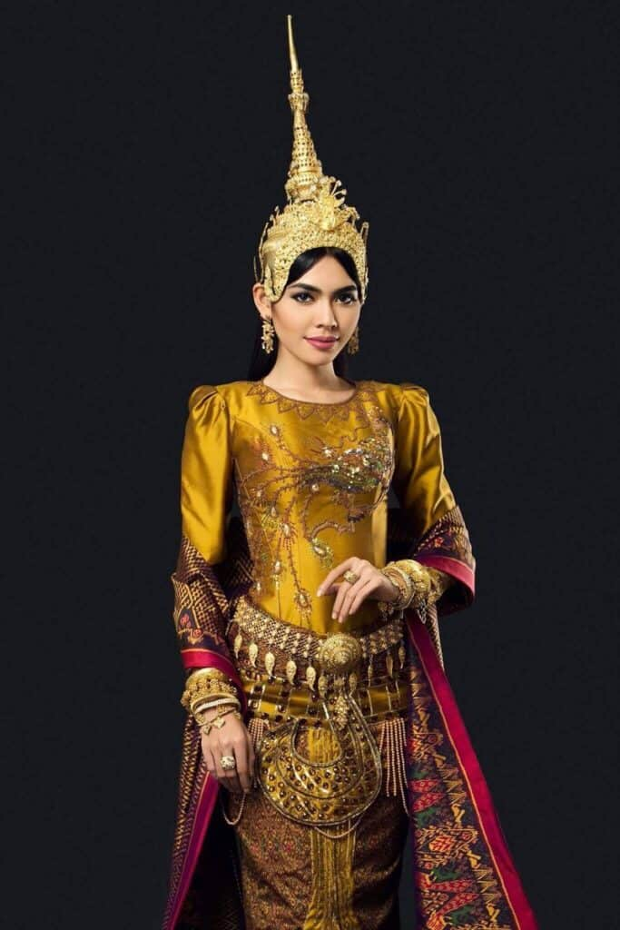 Sotheary By national costume
