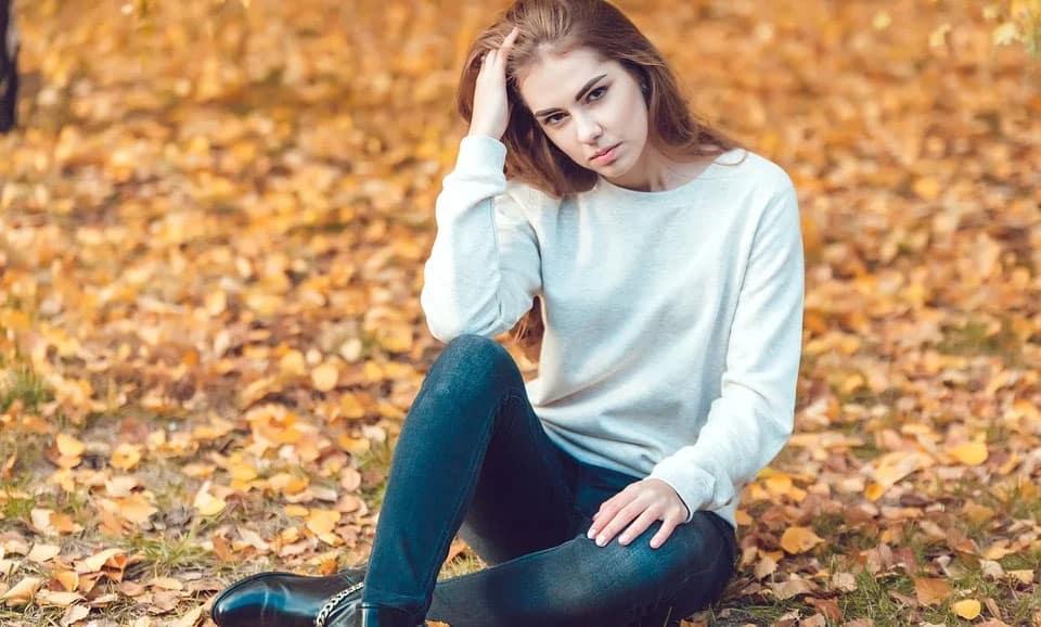 young russian woman